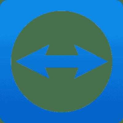 Teamviewer Logo weiss